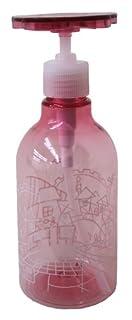 プロトワーク エコポン 洗剤 ボトル ディスペンサー プラスチック製 日本製 300ml ピンク 花柄