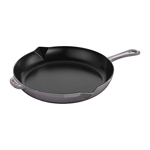 Staub Cast Iron 12-inch Fry Pan - Graphite Grey