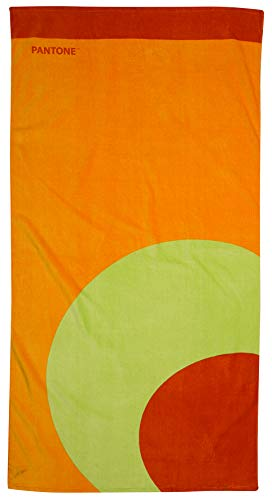FACTORYCR Toalla Pantone Round 75x150 cms 360 grm, Multicolor, 75 x 150 x 1 (PA62051)