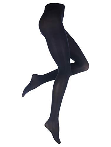 Oroblu - Dames - Satin Tights Panty, 60 denier - Blauw - 44-46