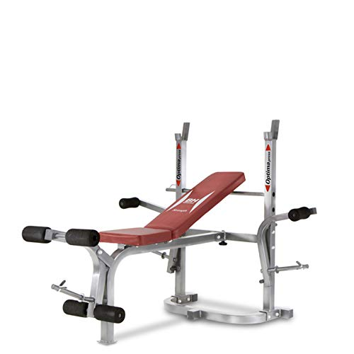 ProAction BH Fitness Optima Flex G325 Panca Multifunzione reclinabile con cavalletto per bilanciere
