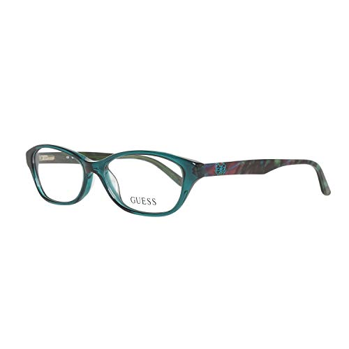 GUEX5 GU2417 52I33 Brille GU2417 52I33 Rechteckig Brillengestelle 52, Grün