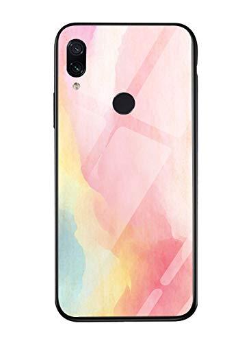 Oihxse Colorido Gradual Cristal Estilo Case Compatible con Xiaomi Mi MAX 3...