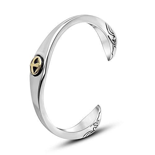 Armband Armbanden Link Armbanden Mode Vintage Armbanden Flat Beats mannen Titanium Staal Armbanden