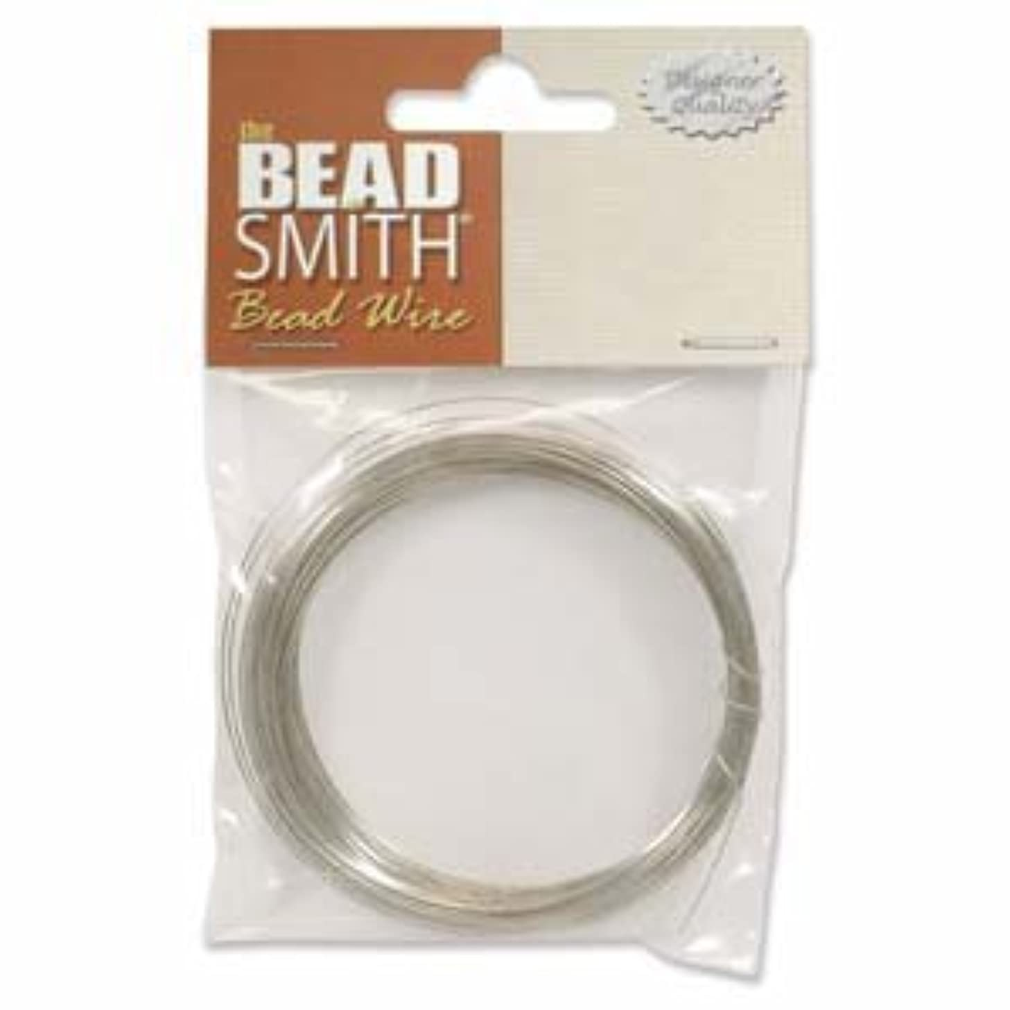 Brass German Bead Craft Wire 26 Gauge .4 Dia 20 Meters 42651