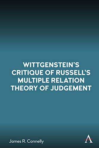 Book Cover for Wittgensteins Critique of Russells Multiple Relation Theory of Judgement