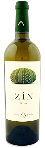 Produttori Vini Manduria Vino Zìn Fiano - 1 Bottiglia da 750 Ml