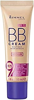 Rimmel BB Cream 9 in 1 SPF15 Medium 1 fl oz 30ml