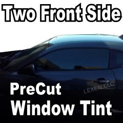 LEXEN Two Front Window Precut Tint Kit Computer Cut Tinting Glass Film Car Any Shade