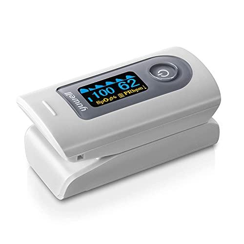 日本国内検品済 yuwell パルスオキシメーター 血中酸素濃度計 医療用 家庭用 心拍計 spo2 脈拍測定器 医療機器認証取得済 クリップ式 ワンタッチで簡単操作 5秒測定 液晶画面 電池付き 携帯便利 一年ほしょう付