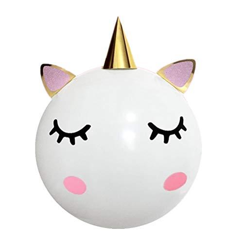 Amosfun Globos de la Fiesta de cumpleaños del Unicornio de los Globos del Unicornio de DIY para Las Decoraciones temáticas de la Ducha del bebé del cumpleaños del Unicornio