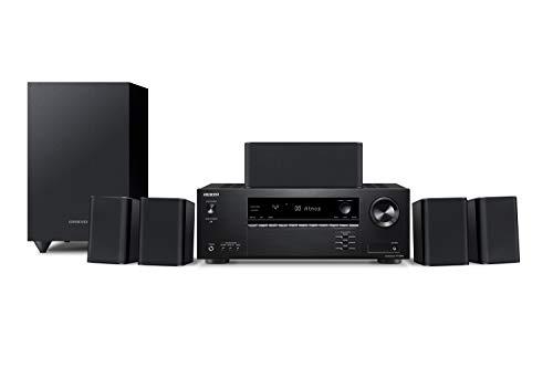 ONKYO 5.1chシアターシステム/Dolby Atmos対応/DTS:X対応/4K対応/ブラック HT-S3910(B)