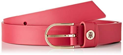 Tommy Hilfiger Damen Classic Belt 2.5 Gürtel, Pink (Pink Tz8), 85 cm