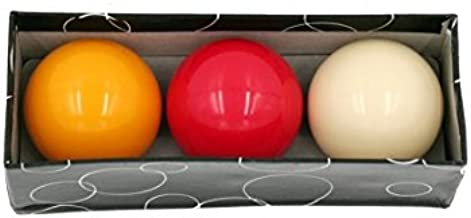 CAAA - Bolas de billar para carambola TV - 61,5mm - Billar francés