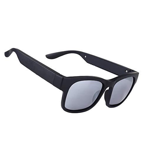 YLJXXY Gafas de Sol Inteligentes, Auriculares inalámbricos con Bluetooth para conducción ósea para Hombres y Mujeres