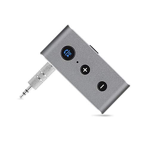 HaiQianXin adapter voor draadloze ontvanger, Bluetooth, 3,5 mm, BTAudio, muziekadapter, zonder kabel, voor koptelefoon met luidspreker