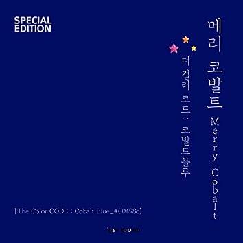 The Color CODE : Cobalt Blue_#00498c