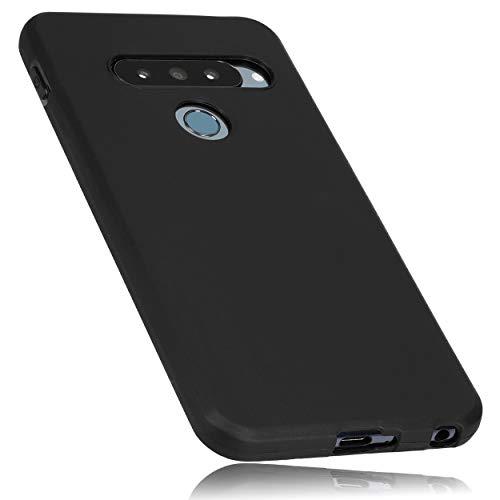 mumbi Hülle kompatibel mit LG G8s ThinQ Handy Hülle Handyhülle, schwarz