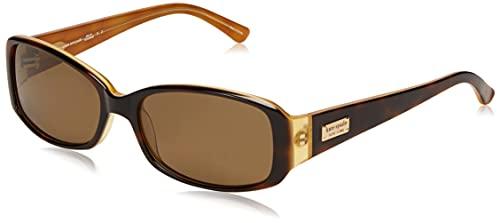 Kate Spade New York Women's Paxton2/S Polarized Cat Eye Sunglasses, Dark Havana, Lens-53 Bridge-17 B-33.7 ED-56 Temple-140