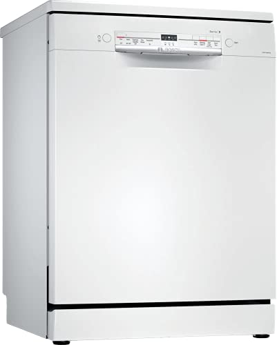 Bosch 13 Place Settings Free Standing Dishwasher (SMS2ITW00I, White)