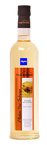 Allgäu-Brennerei Allgäuer Heu-Schnaps 30% Vol. (1x0,5l) (Spirituose)
