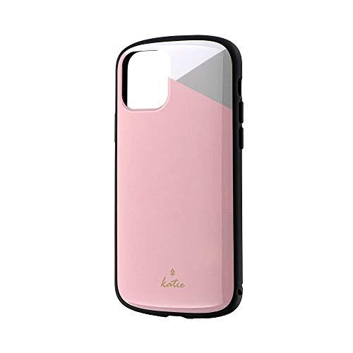 LEPLUS(ルプラス) iPhone 11 Pro 超軽量 極薄 耐衝撃ハイブリッドケース PALLET Katie パステルピンク