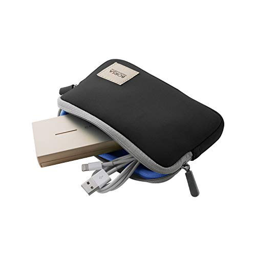 エレコム ポーチ バッグインバッグ アクセサリ/ガジェット収納 ストレッチ素材 Sサイズ ブラック BMA-GP04BK