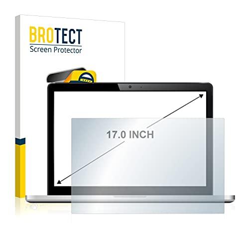 brotect Pellicola Protettiva Opaca 17  per Notebooks con 43.2 cm (17,0 Pollici) [368 mm x 229 mm, 16:10] Proteggi Schermo Anti-Riflesso