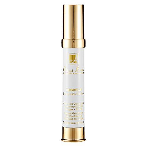 ESSENCE 30 ml. Gel Crema Contorno de Ojos y Labios, con Provitamina B5 y Extracto de Guaraná. Antibolsas Antiojeras y Antiedad