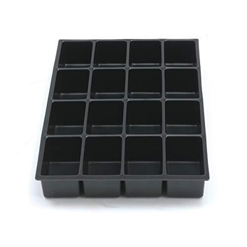 Bisley Insert de tiroir Multiple 225P1800 - Hauteur : 51 mm - pour tiroirs A4-16 Compartiments