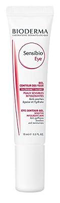 Bioderma Sensibio Anti-Puffiness Soothing and Moisturizing Eye Contour Gel for Sensitive Skin - 0.5 FL.OZ.