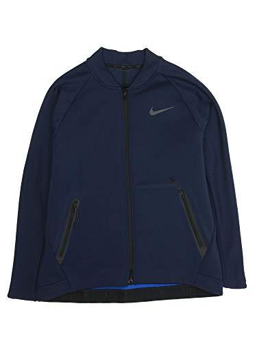 Nike 'Max Therma' Men's Dri-Fit Bomber Jacket (XLarge, Obsidian)