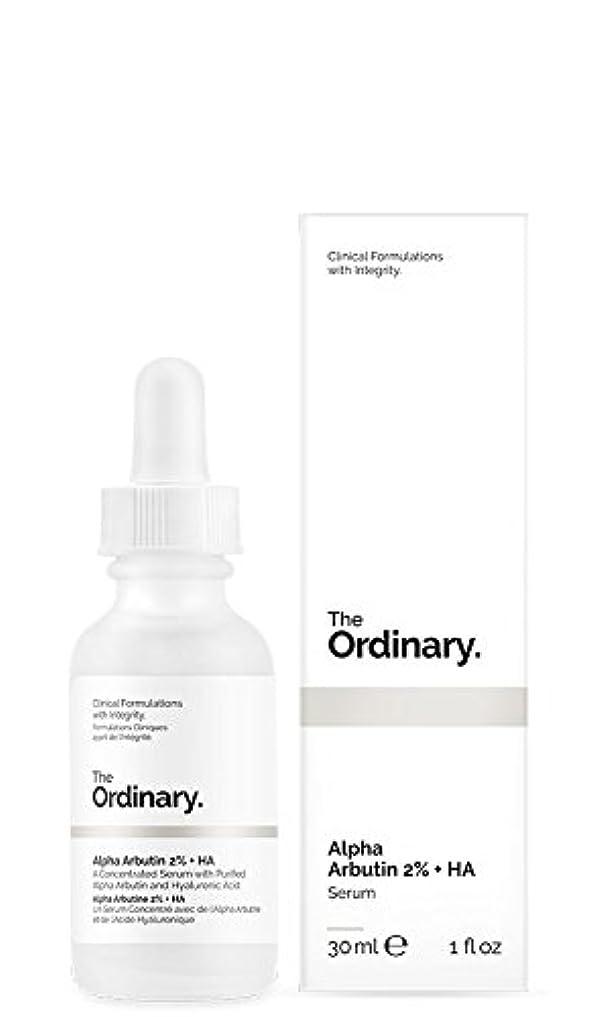 揃える形状湿度The Ordinary | Alpha Arbutin 2% + HA - 30ml