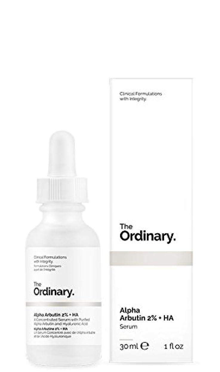 葡萄マントグラムThe Ordinary | Alpha Arbutin 2% + HA - 30ml
