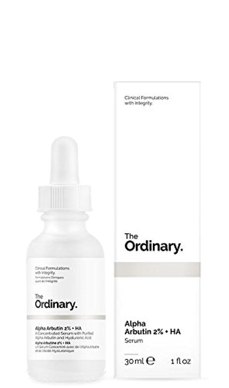 ブラウス生理未就学The Ordinary | Alpha Arbutin 2% + HA - 30ml