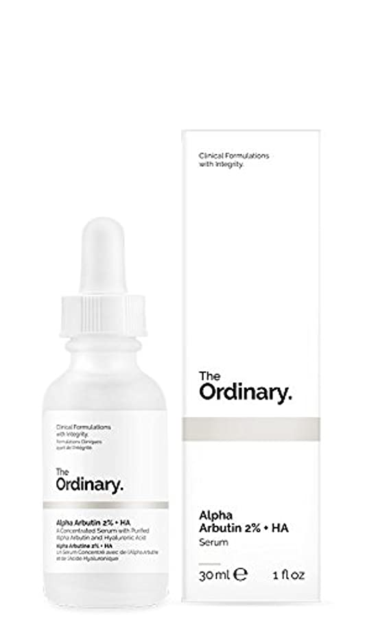 データベース敬科学的The Ordinary | Alpha Arbutin 2% + HA - 30ml