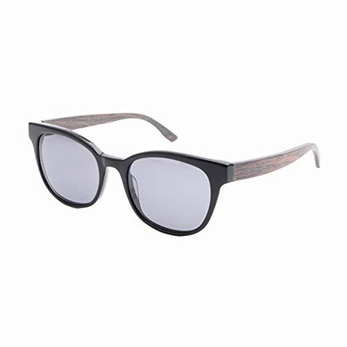 GSSTYJ Bamboo zonnebril met UV400-bescherming voor mannen en vrouwen tijdens het rijden, hardlopen, vrijetijdssport en activiteiten