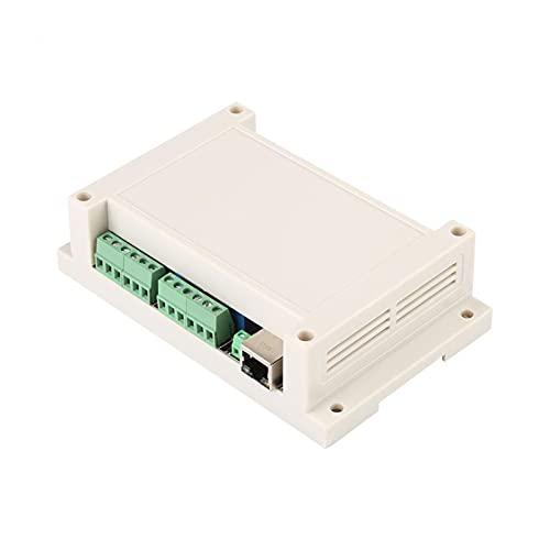 ZHANGAIGUO CCCZY TCP/IP Controlador de relé RJ45 TCP/IP Módulo de Controlador Interruptor de relé de 8 Canales 25 0V / AC 10A (Size : White)