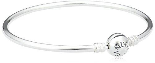 Pandora Women 925 Silver Silver Charm Bracelet - 590713-19