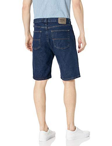Wrangler Authentics Men's Classic Relaxed Fit Five Pocket Jean Short