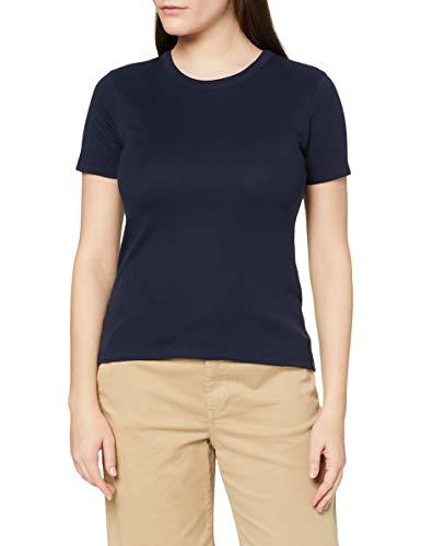 Petit Bateau 5340818 T-Shirt Iconique Col Rond Femme ,Bleu,L