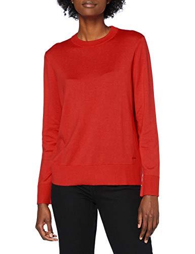 BOSS C_fibinna Suéter pulóver, Dark Orange802, XS para Mujer