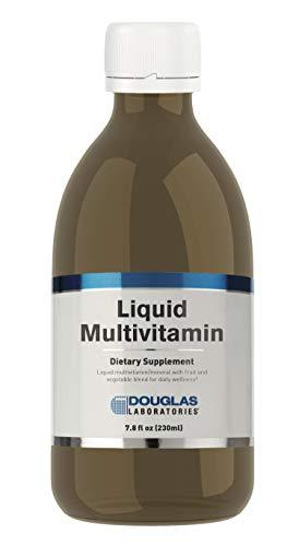 Douglas Laboratories - Liquid Multivitamin - Liquid Multivitamin/Mineral with Fruit and Blend for Daily Wellness - 7.8 fl. oz.
