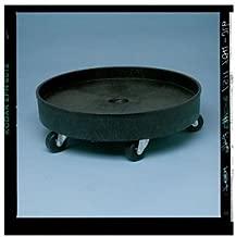 RUBBERMAID Universal Drum Dolly - Black