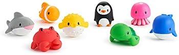 8-Pack Munchkin Ocean Squirts Bath Toy