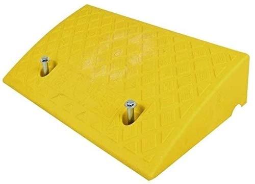 Rampa Rampas Varias alturas Rampas de acera, Rampas de umbral Rampas de servicio comunitario residencial (Color : Yellow)