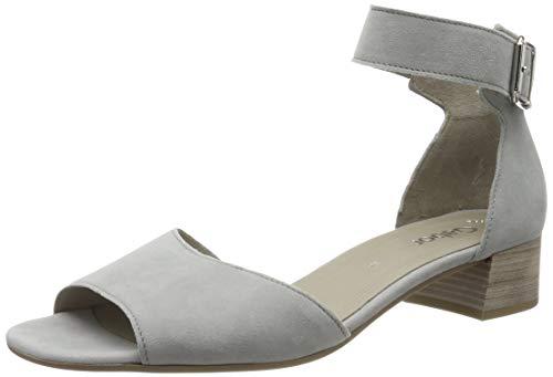 Gabor Shoes Damen Gabor Fashion Riemchensandalen, Grau 19, 38.5 EU