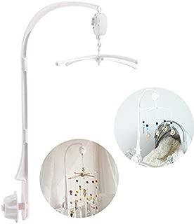 Okawari Home ベッドメリー ベビー オルゴール 手巻き式 360度回転 寝かしつけ用寝具 赤ちゃん おもちゃ 出産祝い プレゼント