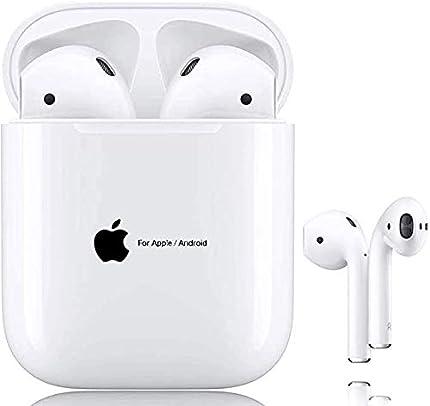 Auriculares Inalámbricos Bluetooth 5.0, Auriculares Bluetooth Deportivos IPX5 Impermeable, In-Ear Cascos Bluetooth Inalámbricos con Microfono Dual y Caja de Carga para airpods/Samsung/Huawei/Xiaomi