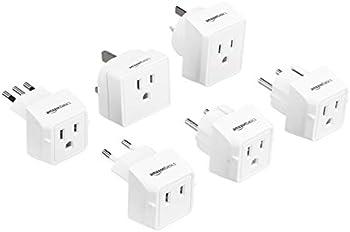Amazon Basics World Travel Plug Adapter Set